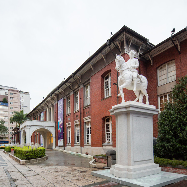 Installation view, Written in Soap: A Plinth Project, Taipei MOCA