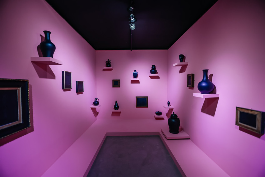 Installation view, Club Monster, Asia Culture Centre