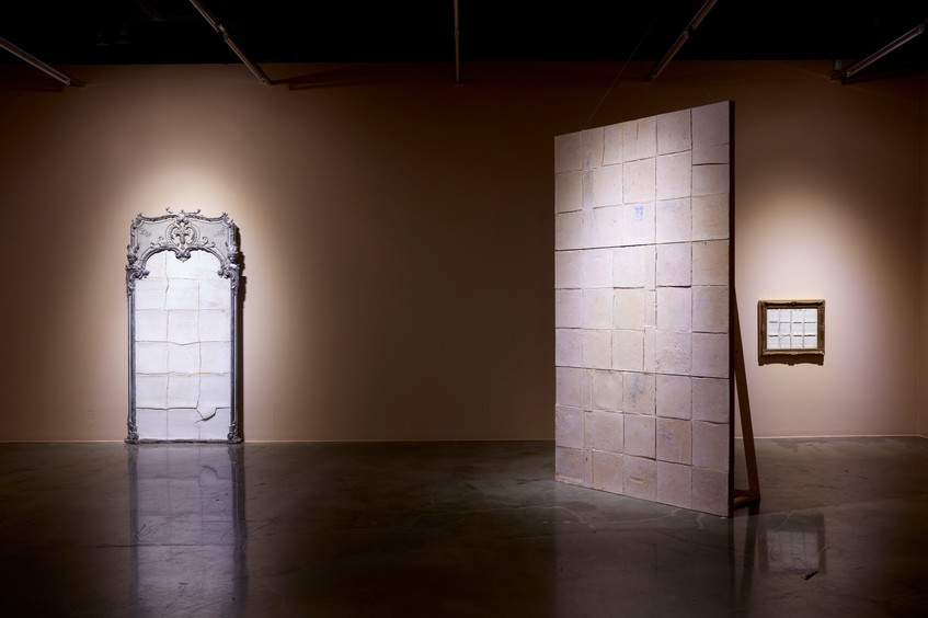 Installation view, The Abyss of Time, Arko Art Centre