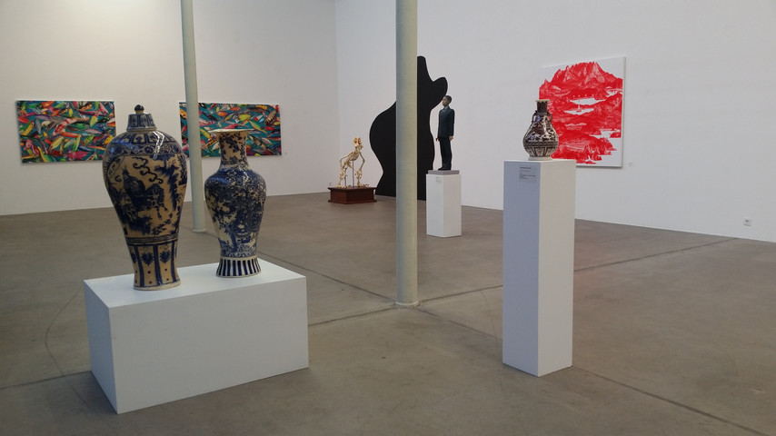 Installation view, Have a Good day, Mr. Kim!,  Michael-Horbach Foundation