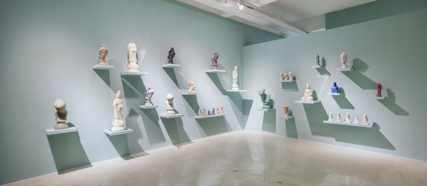 Installation view, Cabinet of Curiosities, Hakgojae Shanghai