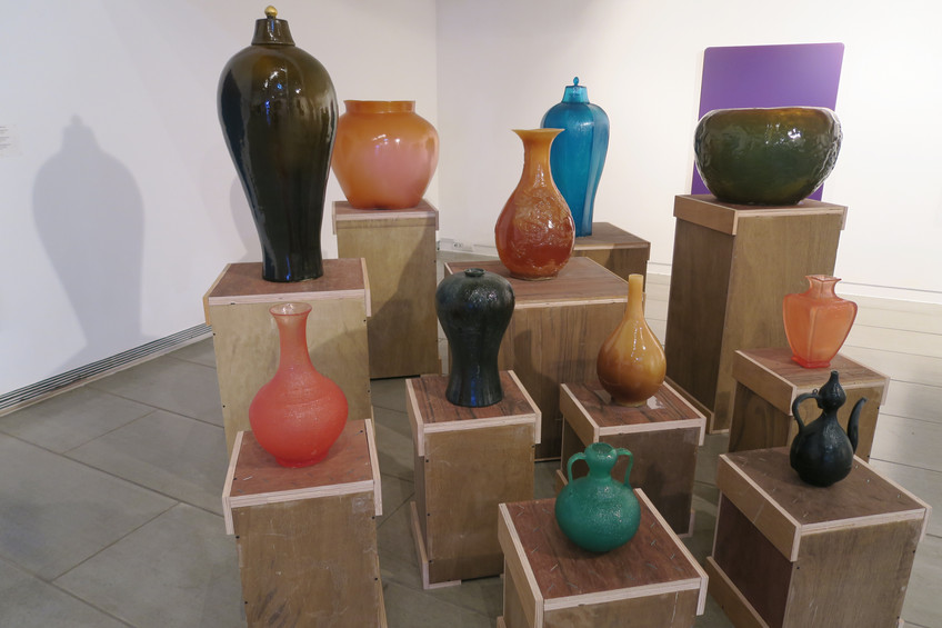 Installation view, Korea Tomorrow, Sungkok Art Museum