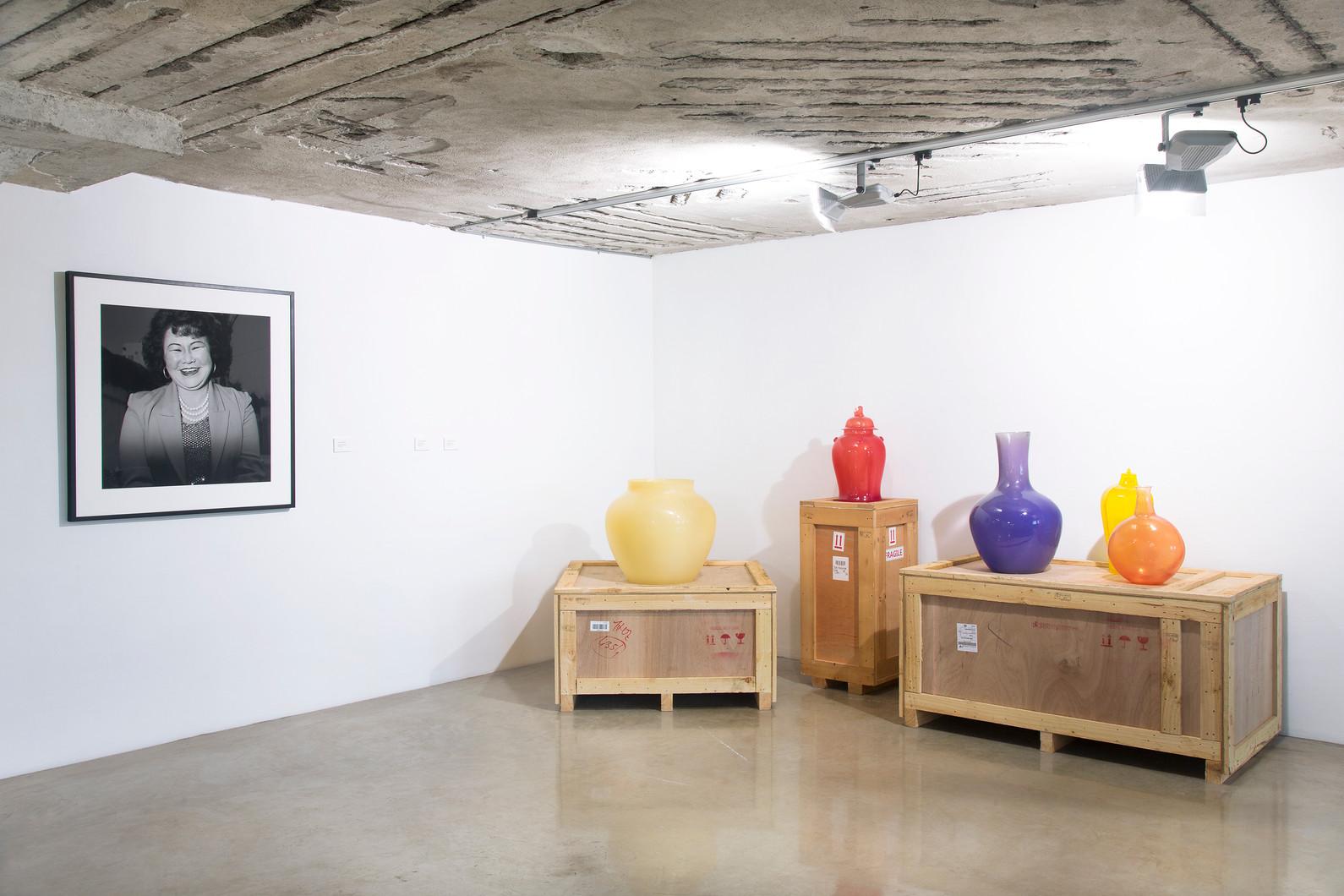 Installation view, Please return to Busan Port, Vestfossen Kunstlaboratorium,Norway