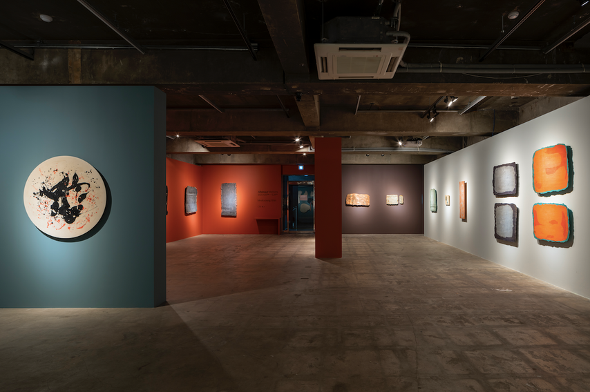 Installation view, Abstract Matters,CR Collective