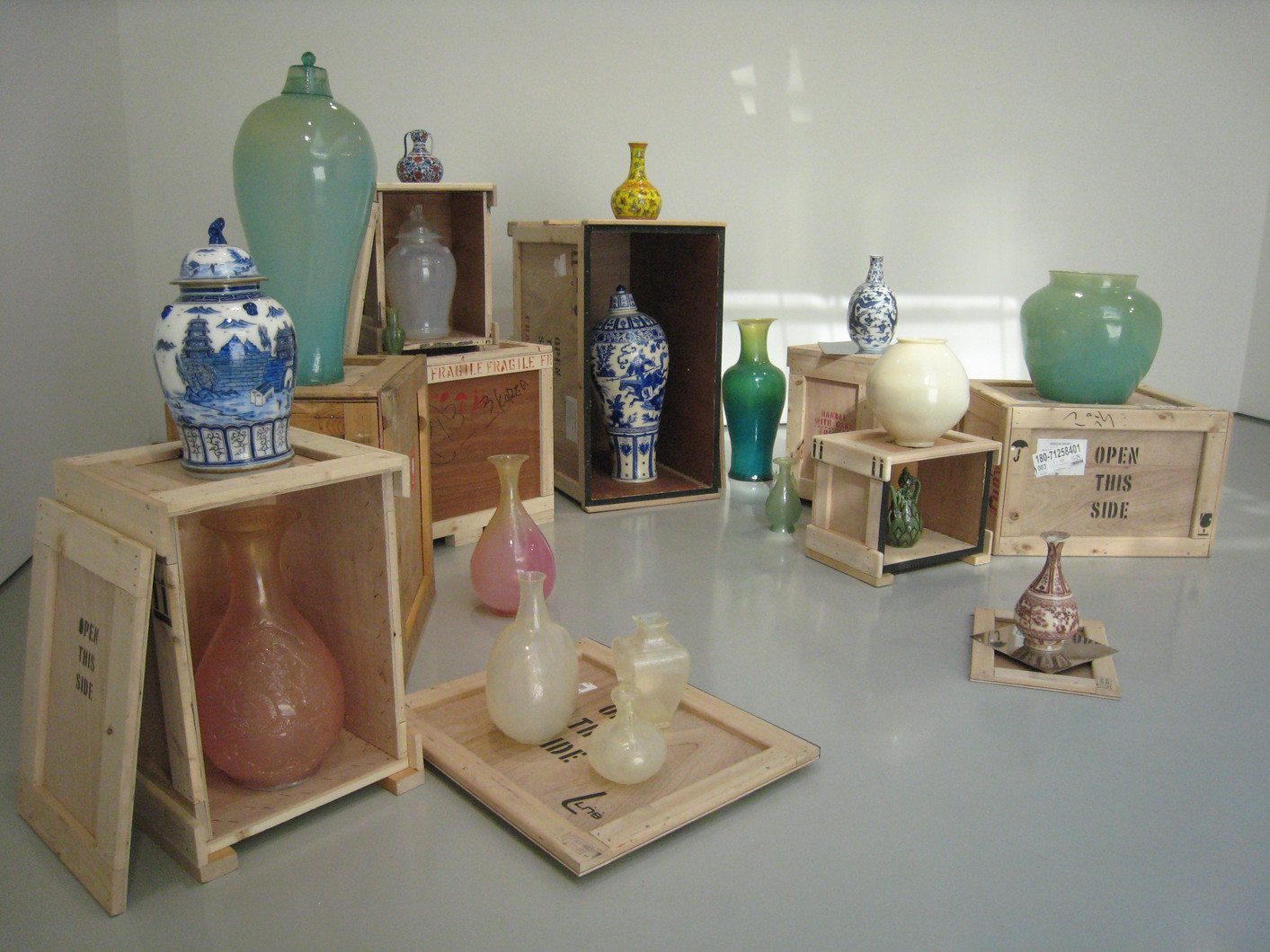 Installation view, As Small As a World and Large as Alone, Gallery Hyundai