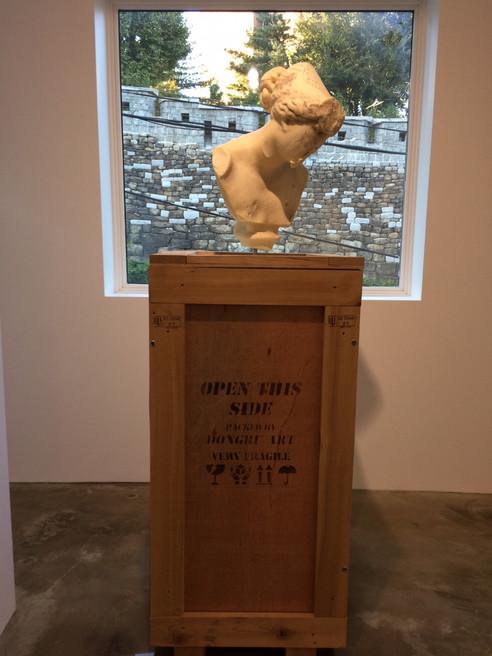 Installation view, Retrospect, Gallery Skape