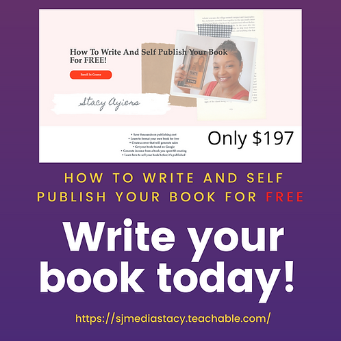 How To Write & Publish Your Book Course