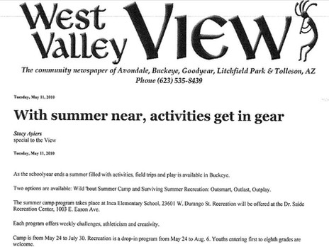 With summer near, activities get in gear