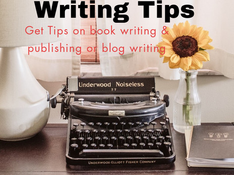 Writing Tips Coming Soon!