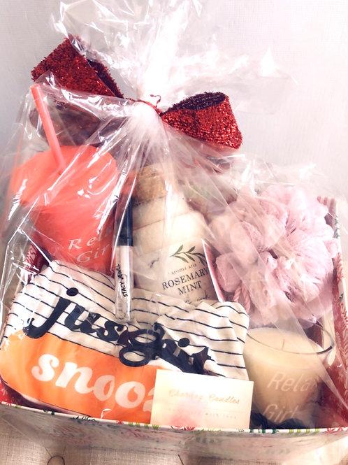 Relax Girl Gift Basket