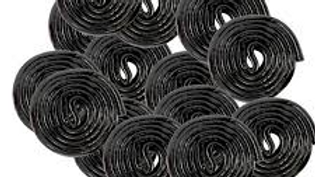 Broadway Black Licorice Wheels 1/2lb
