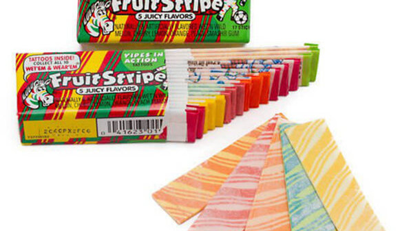 Fruit Stripe Gum - 1 pack