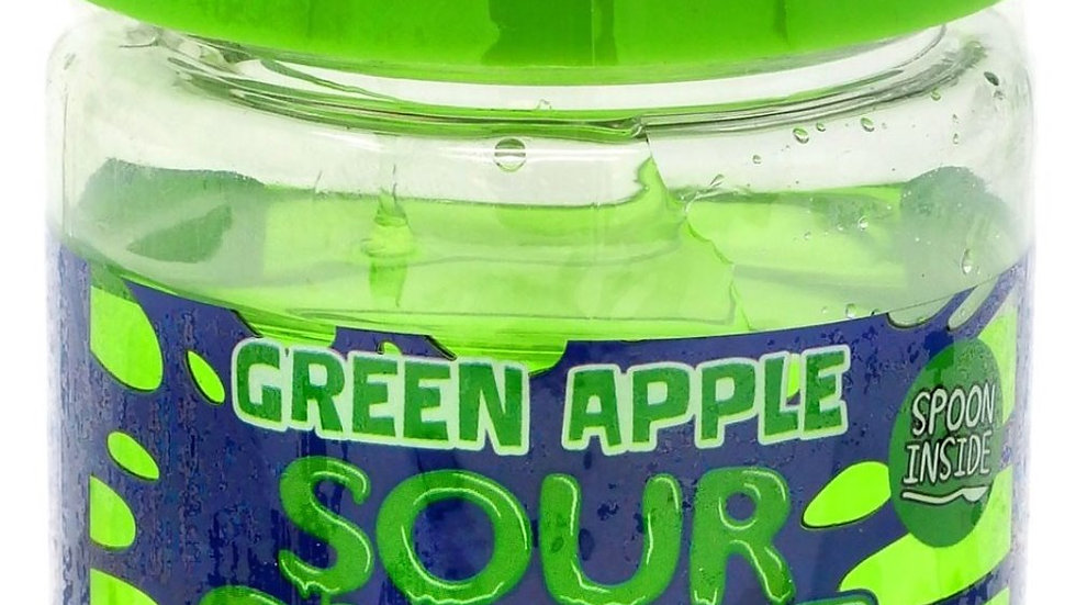 Sour Slime Candy Green Apple 3.5 oz