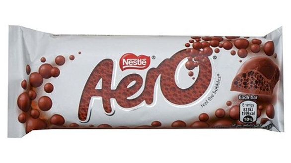 Nestle Aero Milk Chocolate Bar 36g