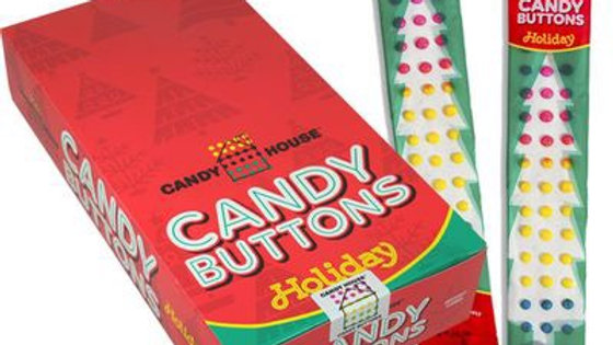 Christmas Candy Buttons (One Package)