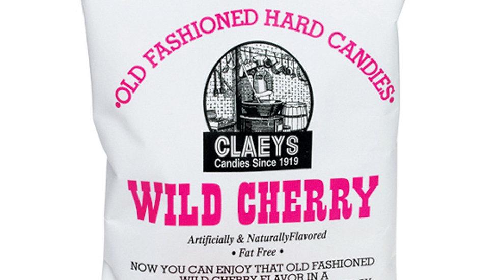 Claeys Wild Cherry Old Fashioned Hard Candy 6oz Bag