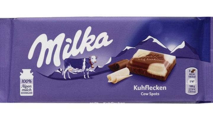 Milka Kuhflecken Cow Spots Chocolate Bar