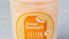 Orange Dreamsicle Cotton Candy