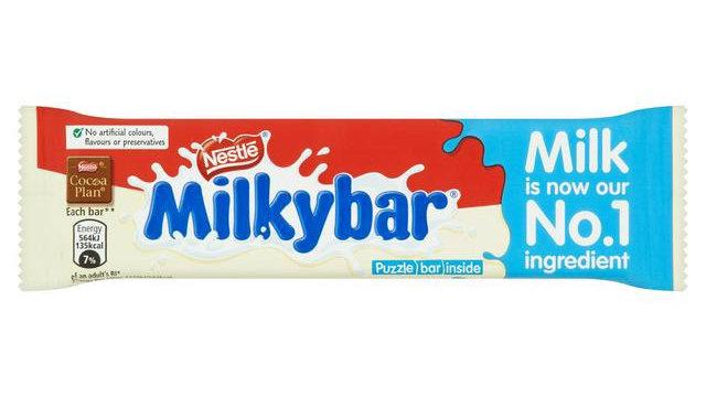 Nestle Milkybar White Chocolate Bar
