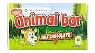 Nestle Animal Bar Milk Chocolate Bar 19g
