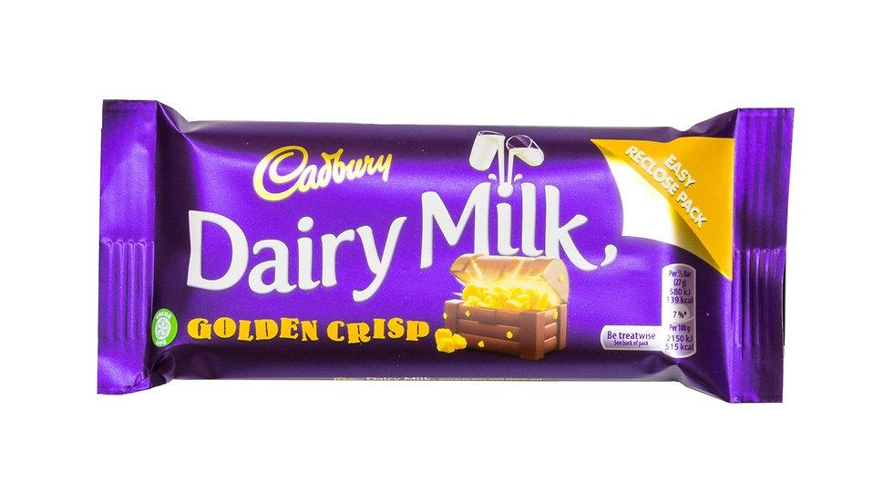Dairy Milk Golden Crisp