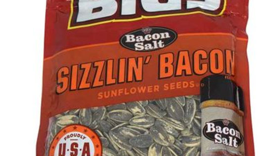 Bigs Sizzlin Bacon Sunflower Seeds 5.35oz
