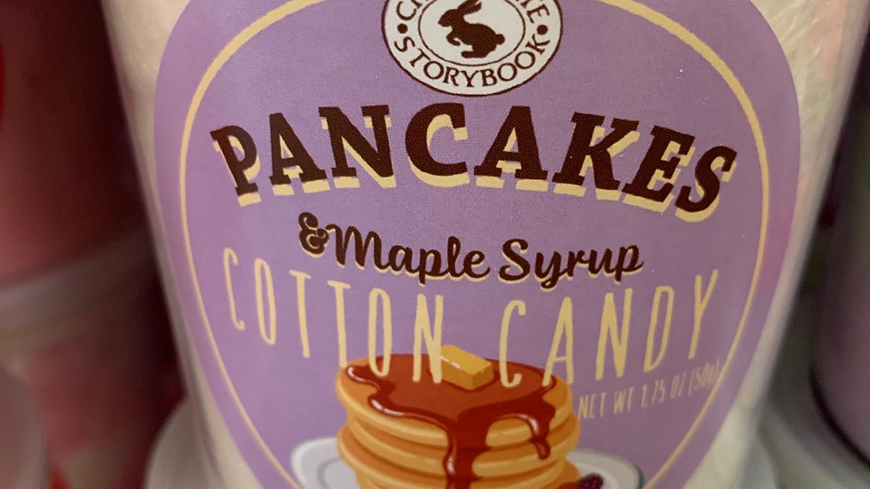 Pancakes & Maple Syrup Cotton Candy