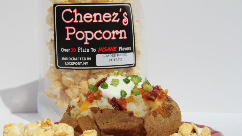 Loaded Baked Potato Flavored Popcorn