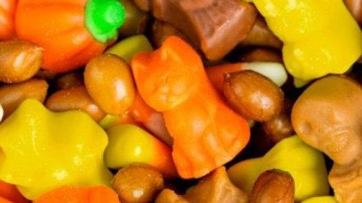 Autumn Peanut Party Mix 1/2 lb