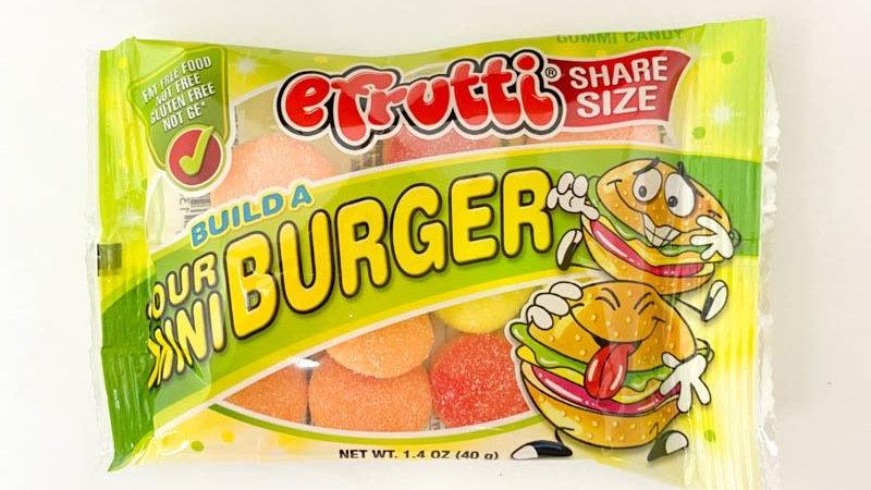 Build A Sour Mini Burger 1.4oz Bag
