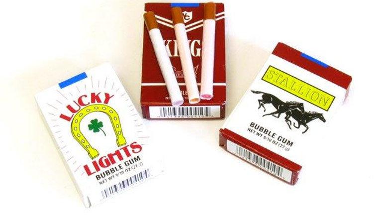 Bubble Gum Cigarette - one (1) pack