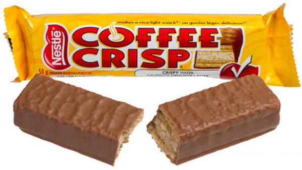 Nestle Coffee Crisp Candy Bar
