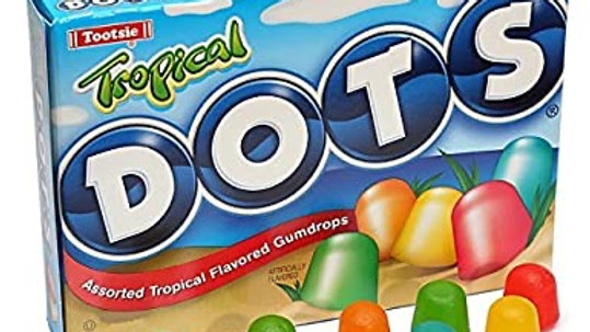 Tropical Dots 6.5oz Theater Box