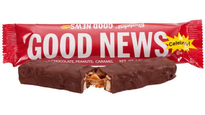 Good News Candy Bar