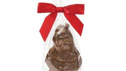 Belgian Chocolate Solid Santa 7oz