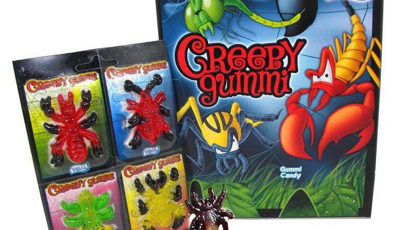 Creepy Gummi Bugs