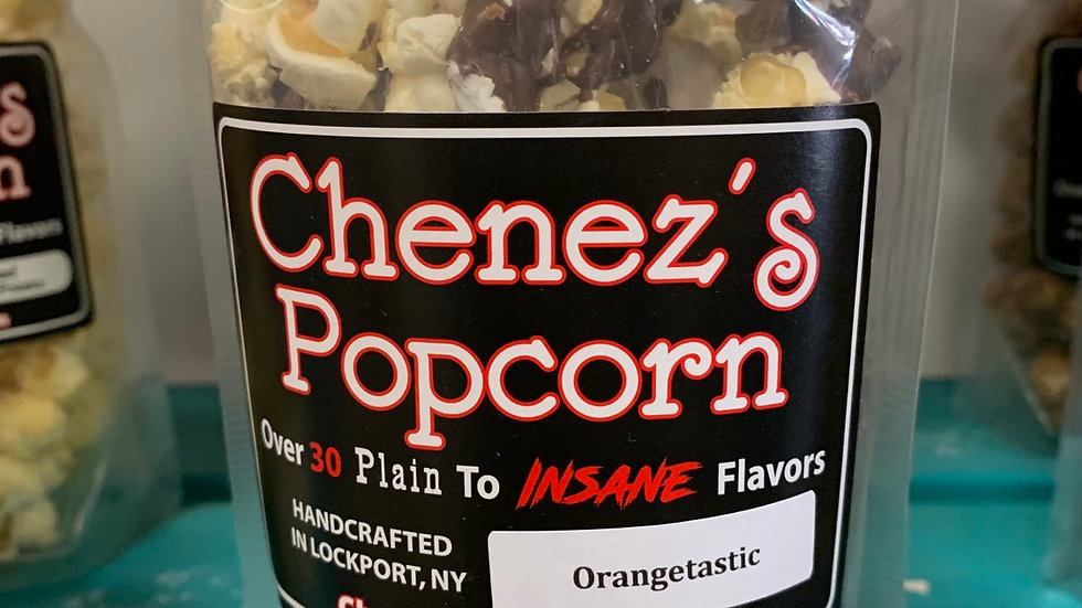Orangetastic Popcorn