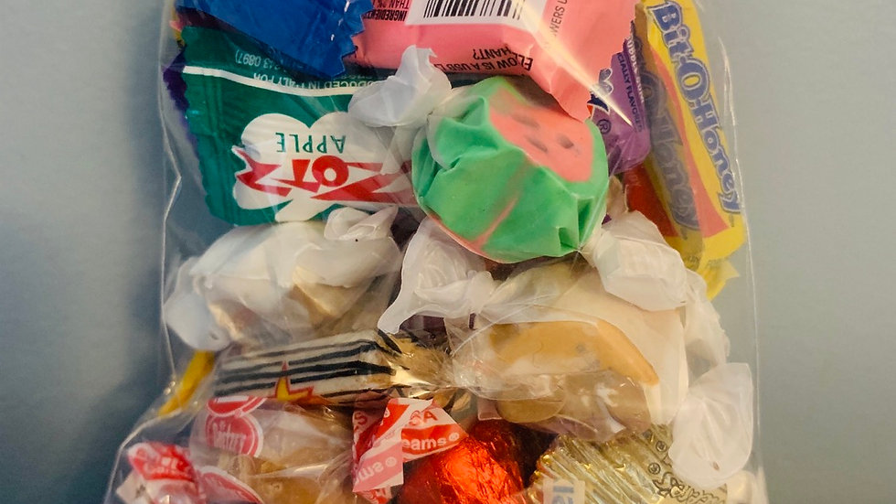 Mixed Wrapped Bulk Candy Grab Bag - 1/2lb