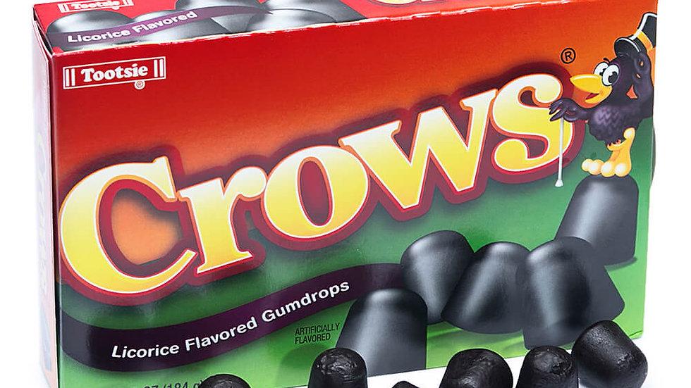 Crows Licorice Flavored Gumdrops 6.5oz Box