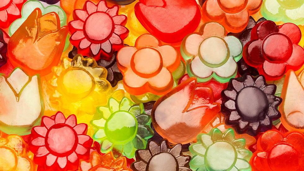 Awesome Blossom Gummi Candy 1/2 lb