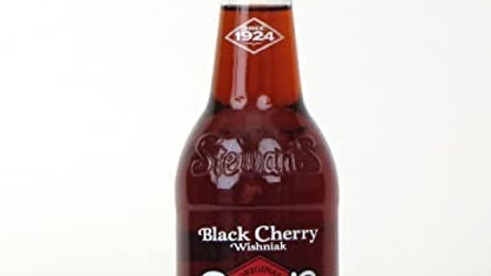 Stewart's Black Cherry Soda (Local Pickup/Local Delivery Only)