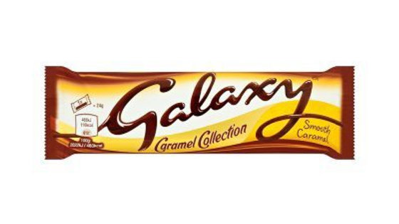 Galaxy Caramel Chocolate Bar