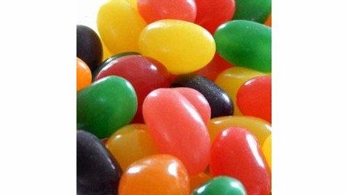 Jelly Beans Jumbo Fruit Flavored 1/2 lb