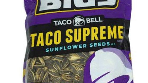 Bigs Taco Bell Supreme Sunflower Seeds 5.35oz