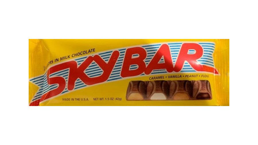 Sky Bar Candy Bar