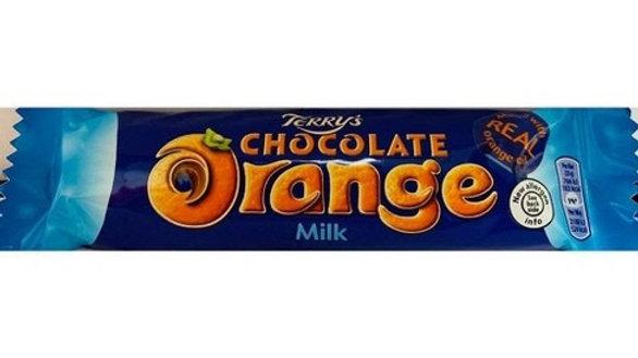 Terry's Orange Chocolate Bar 35g