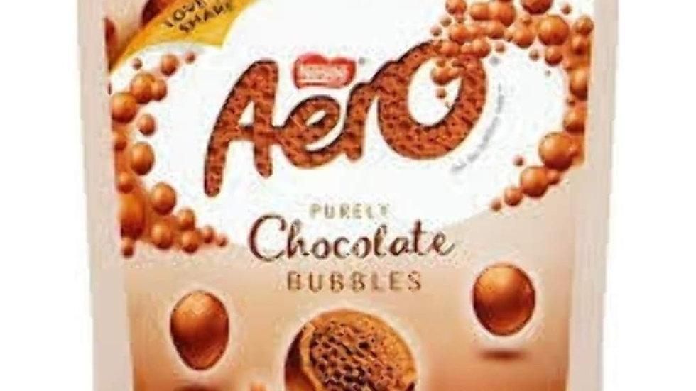 Aero Chocolate Bubbles Pouch (102g)