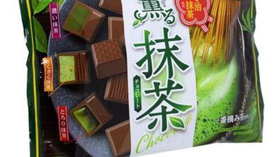 Meito Uji Matcha Chocolate Assorted 4.78oz Bag