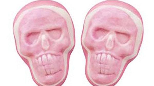 3D Gummy Skulls 1/2 lb