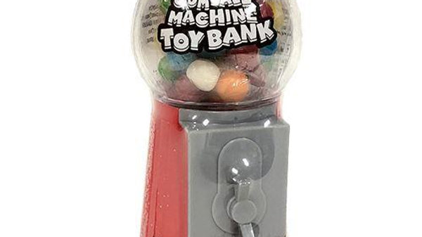 Plastic Gumball Machine Toy Bank 1.4 oz.